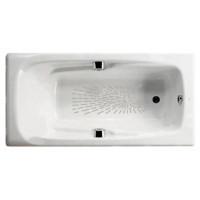 Чугунная ванна Roca Ming 170х85 7.2302.G.000.R (2302G000R) (с противоскользящим покрытием и отверстием под ручки)