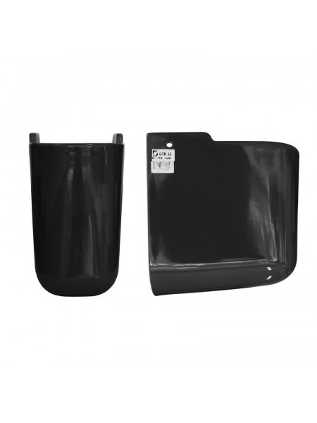 Полупьедестал Sanita Luxe Best Color Black BSTSLSP02