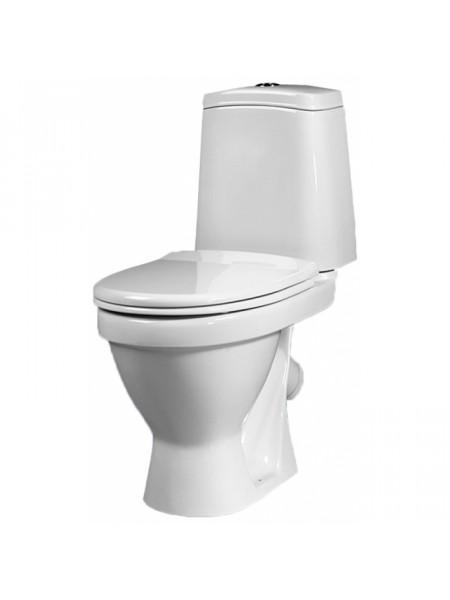 Унитаз напольный Sanita Лада Эконом LDASACC01090111 (косой, полипропиленовое сиденье)