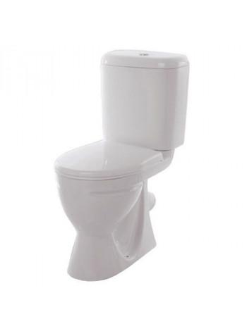Унитаз напольный Sanita Стандарт Стандарт SDTSACC01050712 (косой, дюропластовое сиденье)