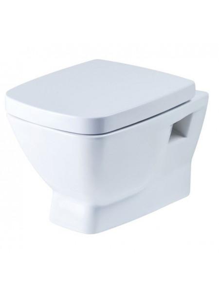 Унитаз подвесной Сантек Нео 1.WH30.2.423 (дюропластовое сиденье, микролифт)