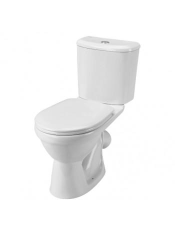 Унитаз напольный Сантек Бореаль 1.WH30.2.145 (косой, дюропластовое сиденье микролифт)