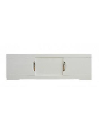 Экран для ванны Style Line Глен 150 см. (белый глянец, раздвижной)