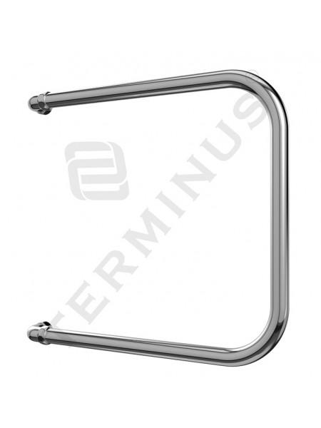 Полотенцесушитель водяной Terminus П-образный П 500х400 (хром глянец, боковое подключение)
