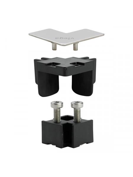 Угловой соединительный комплект Viega Advantix Vario 711757 (хром глянец)