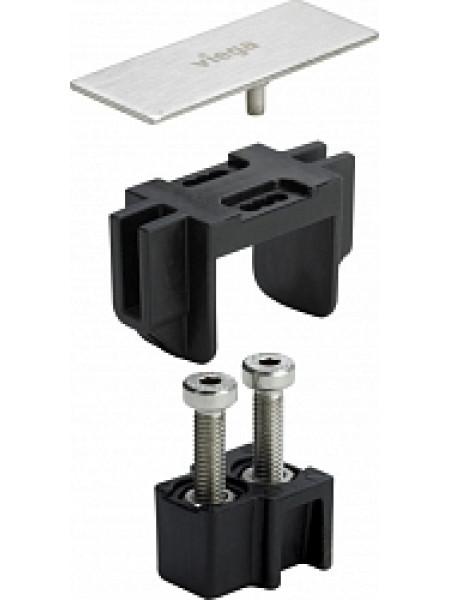 Прямой соединительный комплект Viega Advantix Vario 711801 (хром глянец)