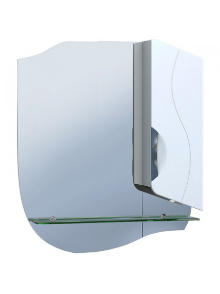 Зеркало Vigo Callao 650 65 см. (№26-650-ПР, белое, правое)