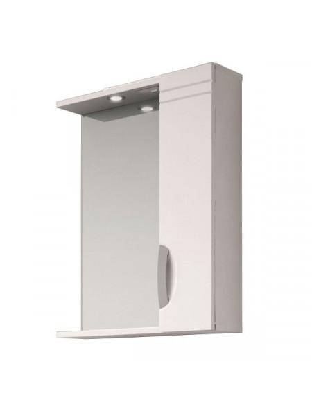 Зеркало Vigo Jika 500 50 см. (№19 500-ПР, белое, правое)