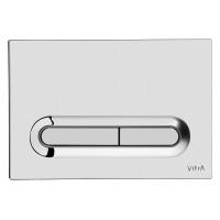 Клавиша смыва Vitra 740-0780 (хром глянец)