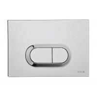 Клавиша смыва Vitra 740-0940 (нержавеющая сталь)