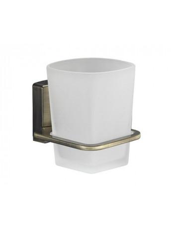 Подстаканник стеклянный Wasser Kraft Exter K-5228 (светлая бронза)