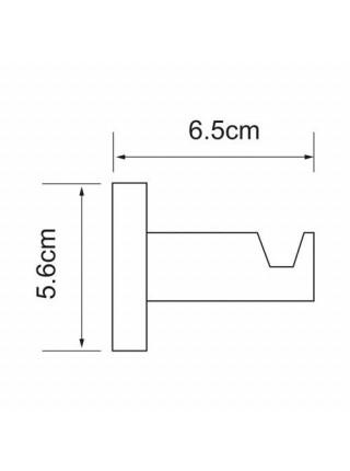 Крючок Wasser Kraft Isen K-4023