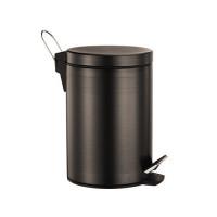 Ведро для мусора Wasser Kraft Isar 5L К-645 (тёмная бронза)