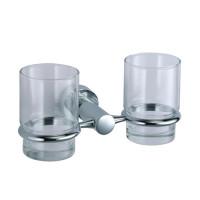 Подстаканник двойной стеклянный Wasser Kraft Donau K-9428D