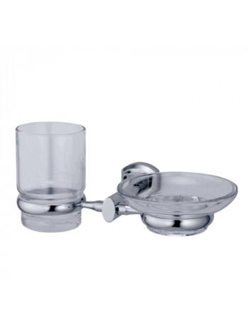 Держатель стакана и мыльницы Wasser Kraft Oder K-3026