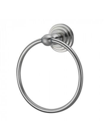 Держатель полотенец кольцо Wasser Kraft Ammer К-7060 (матовый хром)