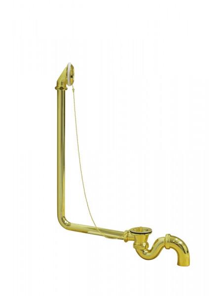 Слив-перелив для ванны Wirquin (золото)