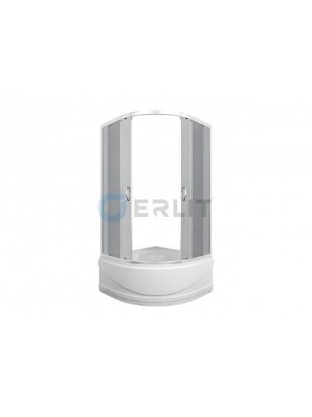 Душевой уголок Erlit ER0510T-C4 100х100 (тонированное стекло, высокий поддон)