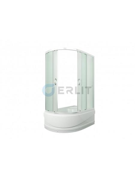 Душевой уголок Erlit ER 0512TR-C3 120х80 (правый, матовое стекло, высокий поддон)