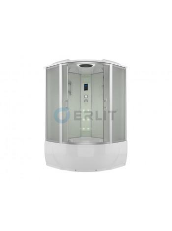 Душевой бокс Erlit ER4350T-W3 150х150 (матовое стекло, высокий поддон)