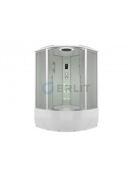 Душевой бокс Erlit ER4320T-W3 120х120 (матовое стекло, высокий поддон)
