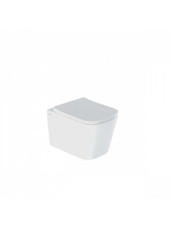 Унитаз подвесной Iddis Bild BILRDSEi25 (безободковый, дюропластовое сиденье, микролифт)