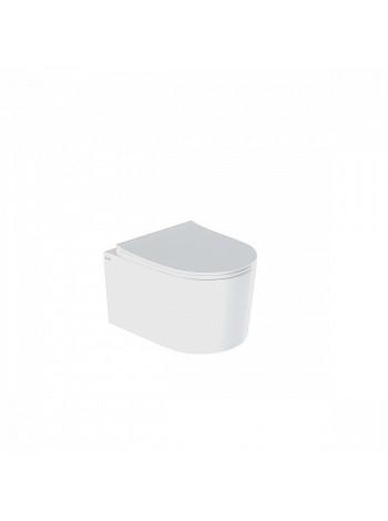 Унитаз подвесной Iddis Stone STORDSEi25 (безободковый, дюропластовое сиденье, микролифт)
