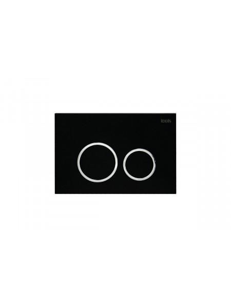Клавиша смыва Iddis Unifix UNI51MBi77 (черный матовый)