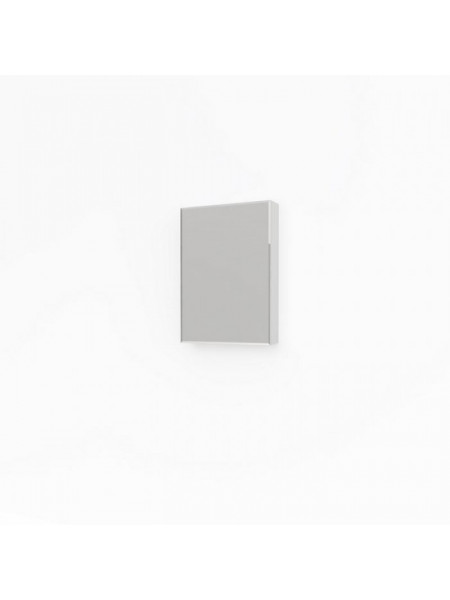 Зеркало-шкаф Какса-А Лайт 50 50 см. 4555 (белое)
