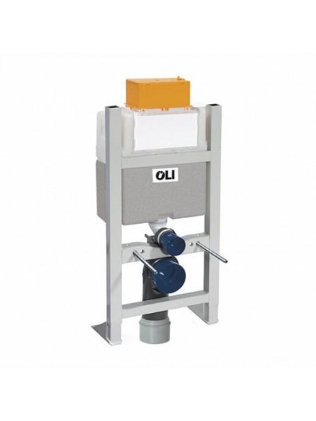 Инсталляция для подвесного унитаза OLI Expert Evo Plus Sanitarblock 014092 (механический смыв, самонесущая)