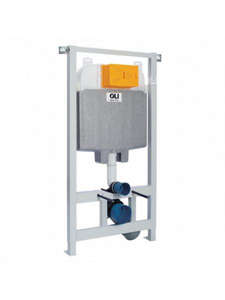 Инсталляция для подвесного унитаза OLI74 Plus Sanitarblock 152978 (механический смыв с системой OLIpure)