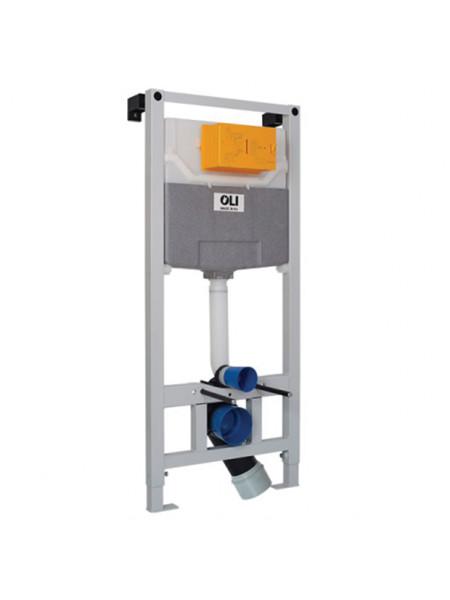 Инсталляция для подвесного унитаза OLI120 Sanitarblock 152972 (механический смыв с системой OLIpure)