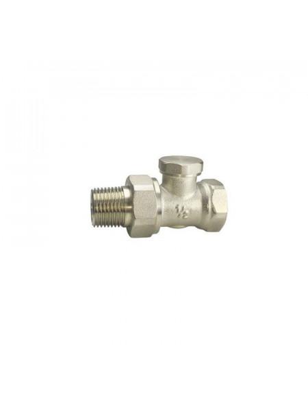 Клапан радиаторный запорный Remsan Ду 15 1/2 (прямой)