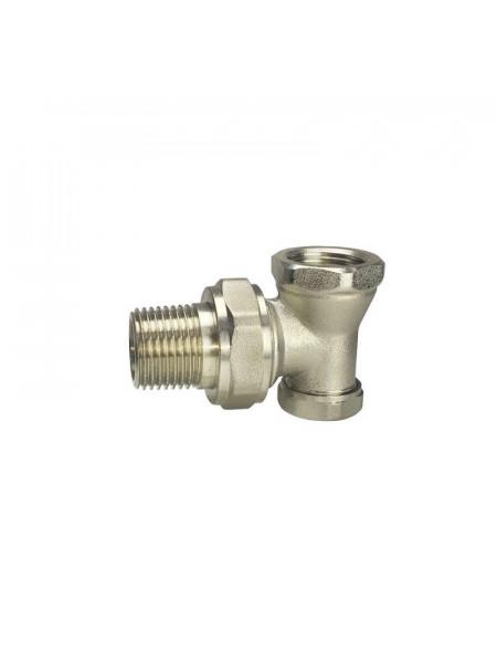 Клапан радиаторный запорный Remsan Ду 15 1/2 (угловой)